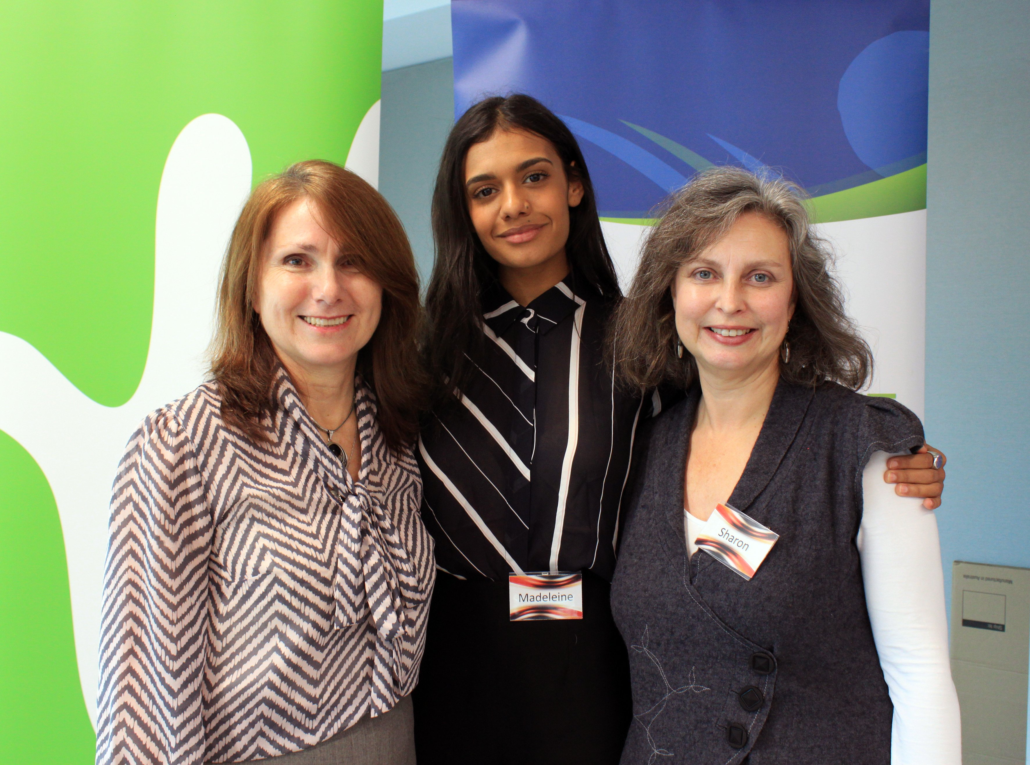 ACWA Deputy CEO Wendy Foote, Madeleine Madden & Sharon Broady (Fostering NSW).